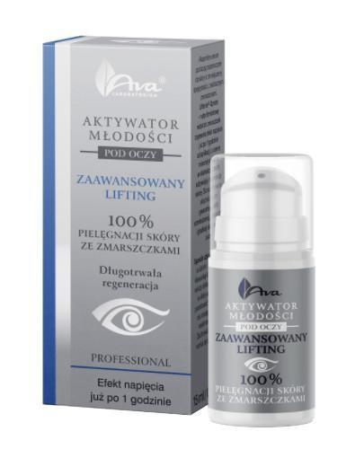 Ava Aktywator Młodości Zaawansowany Lifting serum pod oczy 15 ml