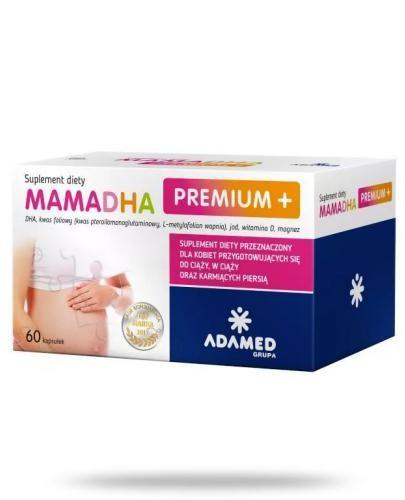 MamaDHA Premium Plus 60 kapsułek