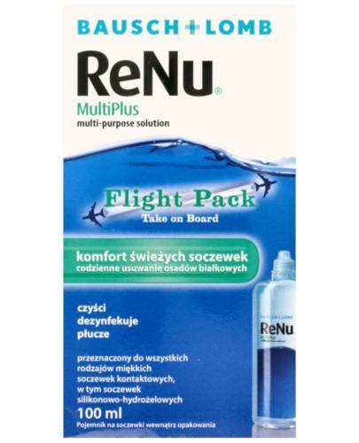 ReNu MultiPlus Flight Pack płyn do soczewek 100 ml