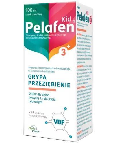 Pelafen Kid 3+ VBF syrop o smaku owocowym dla dzieci 100 ml