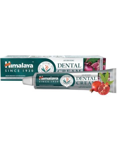 Himalaya Dental Cream ajurwedyjska ziołowa pasta do zębów Neem i Granat 100 g