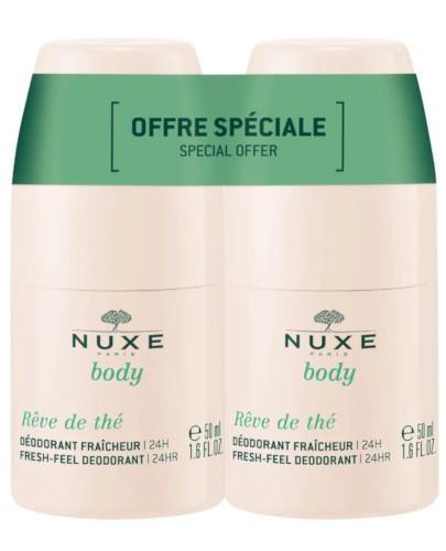 Nuxe Body Reve de The dezodorant roll-on 24 godzinna świeżość 2 x 50 ml [DWUPAK]