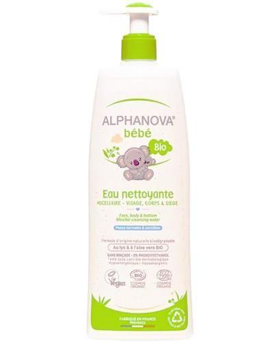 Alphanova Bebe organiczna woda micelarna do mycia 500 ml