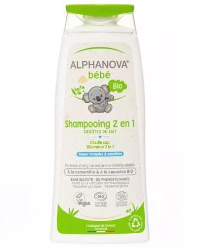 Alphanova Bebe organiczny delikatny szampon do włosów 200 ml