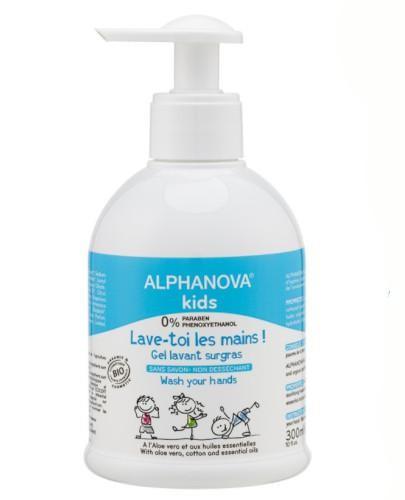 Alphanova Kids żel do mycia rąk 300 ml
