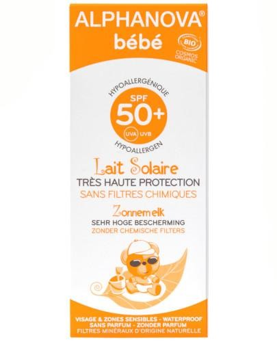 Alphanova Bebe Sun krem ochronny na słońce 50 g