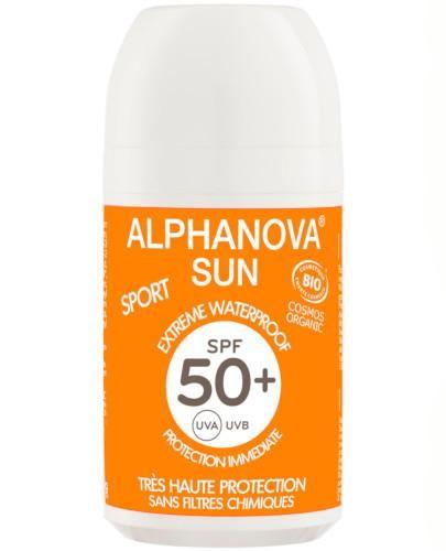 Alphanova Sun Extreme Sport krem przeciwsłoneczny SPF 50+ w kulce roll-on 50 g