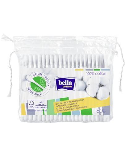 Bella Cotton papierowe patyczki higieniczne w folii 160 sztuk