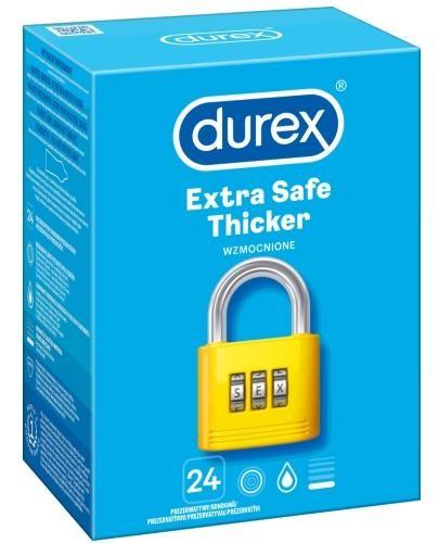 Durex Extra Safe prezerwatywy 24 sztuki