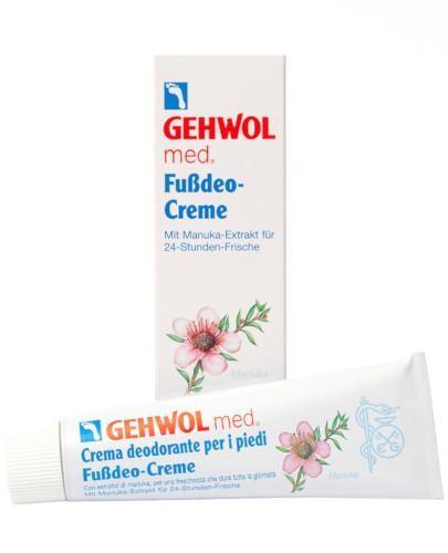 Gehwol Med intensywny krem silnie odświeżający do stóp 75 ml