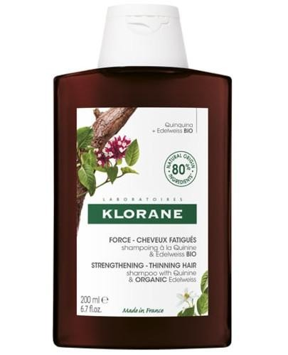 Klorane szampon z chininą i organiczną szarotką 200 ml