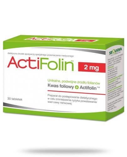ActiFolin 2mg kwas foliowy 30 tabletek