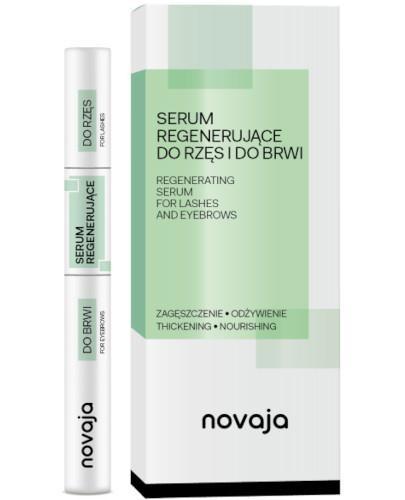 Novaja serum regenerujące do rzęs i do brwi 11 ml