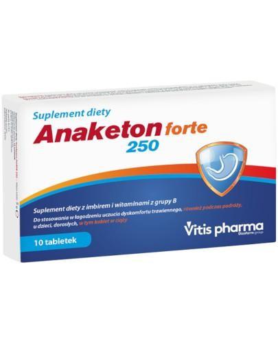 Anaketon Forte 250 10 tabletek