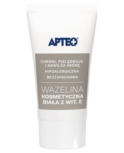 Apteo wazelina kosmetyczna biała z Wit. E 20 g