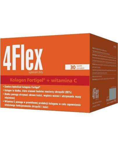 4 Flex kolagen nowej generacji z witaminą C 30 saszetek