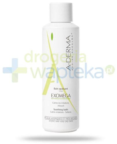 A-Derma Exomega Bain płyn do kąpieli 250 ml  whited-out
