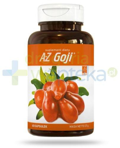 A-Z Goji 60 kapsułek  whited-out