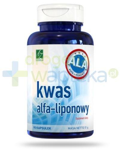 A-Z kwas alfa-liponowy 90 kapsułek