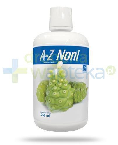 A-Z Noni sok z owoców noni 950 ml   whited-out