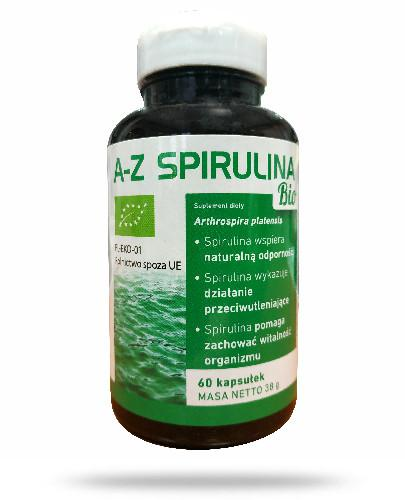 A-Z Spirulina Bio 60 kapsułek