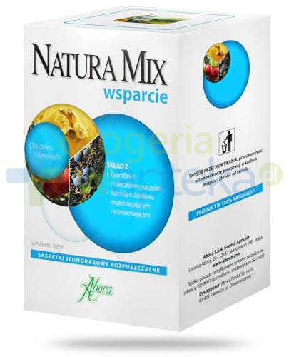 Aboca Natura Mix wsparcie 20 saszetek