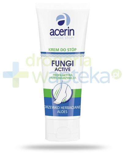 Acerin Fungi Active krem do stóp przeciwgrzybiczy 75 ml  whited-out