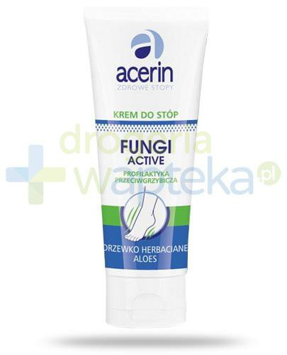 Acerin Fungi Active krem przeciwgrzybiczy do stóp 50 ml  whited-out