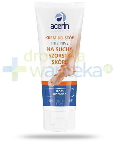 Acerin Intensive krem do stóp na suchą i szorstką skórę z woskiem pszczelim 75 ml