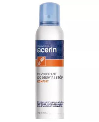 Acerin Komfort dezodorant do obuwia i stóp 150 ml  whited-out