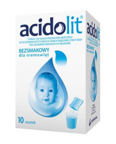 Acidolit bezsmakowy proszek 10 saszetek
