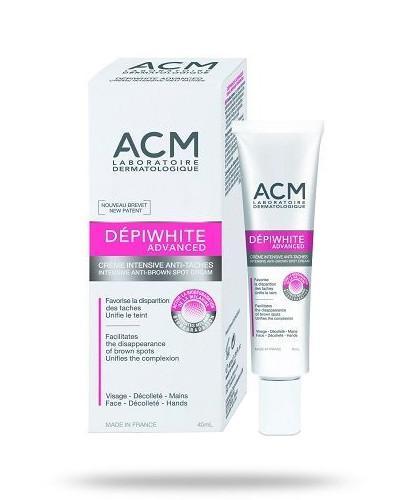 ACM DepiWhite Advanced intensywny krem na przebarwienia 40 ml [Data ważności 30-09-2020]