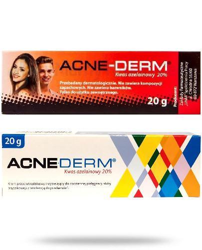 Acne-Derm wybielający krem z kwasem azelainowym 20% 20 g