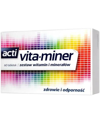 Acti Vita-miner 60 tabletek
