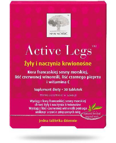 Active Legs Żyły i naczynia krwionośne 30 tabletek
