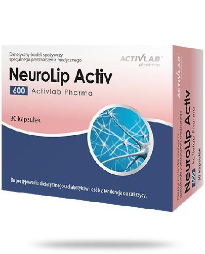 ActivLab NeuroLip Activ 600 30 kapsułek