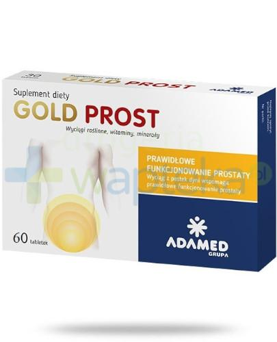 Gold Prost wyciąg z pestek dyni 60 tabletek