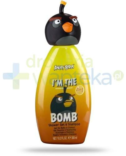 Air-Val Angry Birds Bomb żel 2w1 pod prysznic do włosów i ciała 300 ml [5961]  whited-out