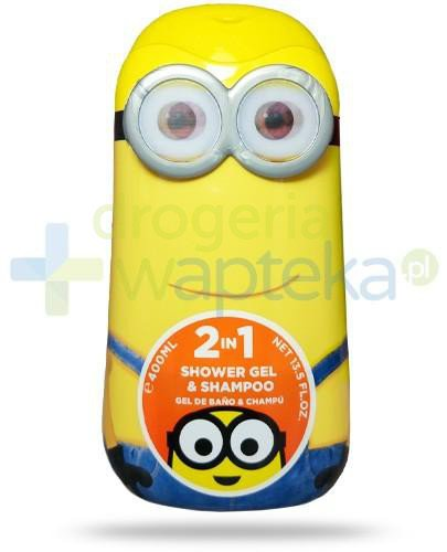 Air-Val Minionki żel 2w1 do włosów i ciała 400 ml [6285]  whited-out