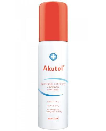 Akutol opatrunek ochronny z tworzywa sztucznego spray 60 ml
