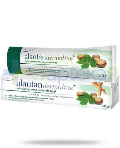 AlantanDermoline żel na zmęczone i ociężałe nogi 50 g