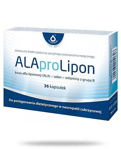 ALAproLipon na wspomaganie układu nerwowego 36 kapsułek