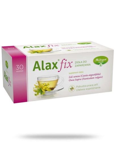 Alax fix zioła do zaparzania 30 saszetek