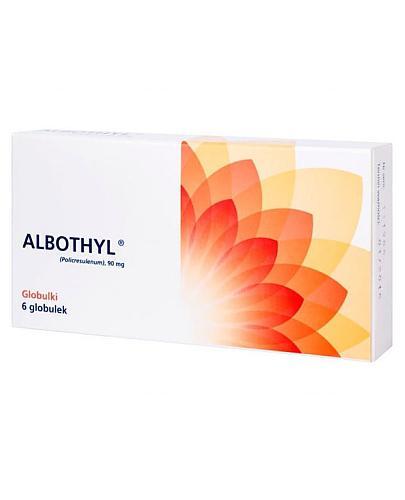 Albothyl 90 mg 6 globulek dopochwowych