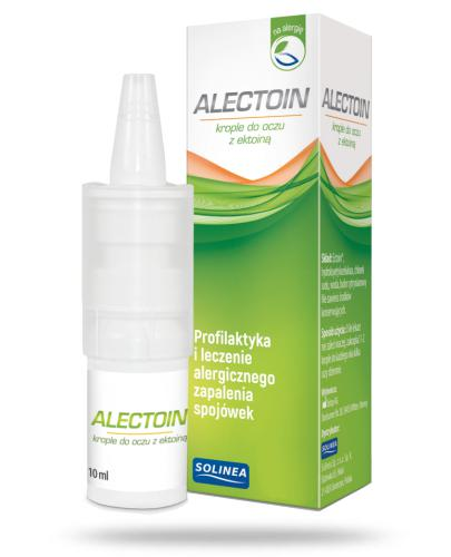 Alectoin Krople nawilżające do oczu z ektoiną 10 ml