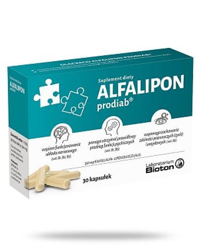Alfalipon Prodiab 30 kapsułek