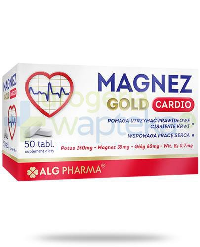 Alg Pharma Magnez Gold Cardio 50 tabletek