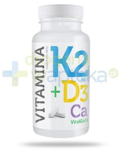 Alg Pharma Witamina K2 MK-7 + D3 VitalGold 60 tabletek
