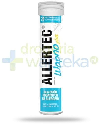 Allertec Wapno Plus 20 tabletek musujących