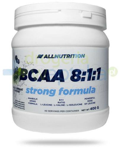 Allnutrition BCAA 8:1:1 Strong Formula Black Currrant smak czarna porzeczka 400 g [aminokw...  whited-out